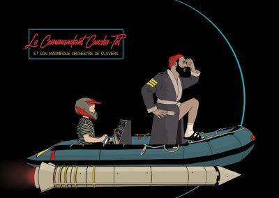 Le Commandant Couche-Tôt, 2019